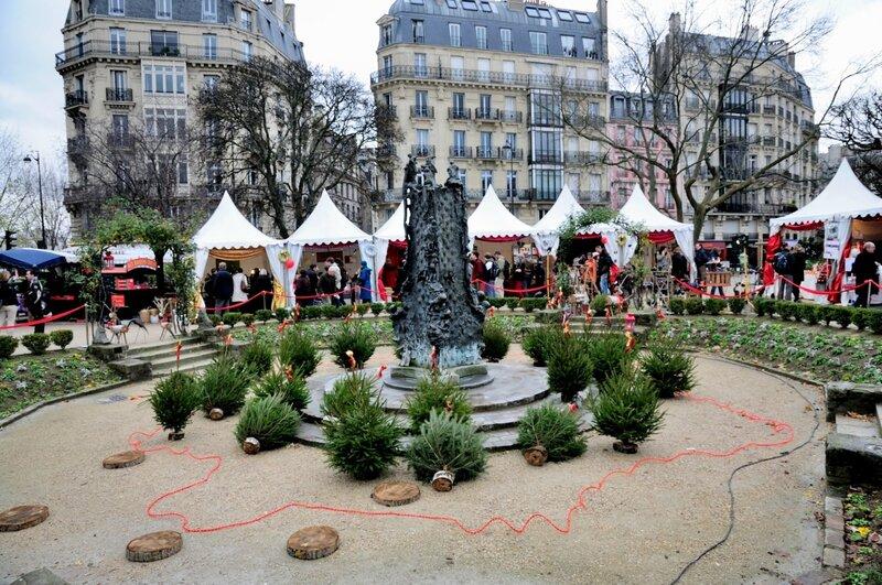 Ярмарка в Париже