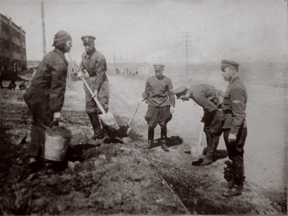 1935. Ростов-на-Дону. Субботник в 21 баб