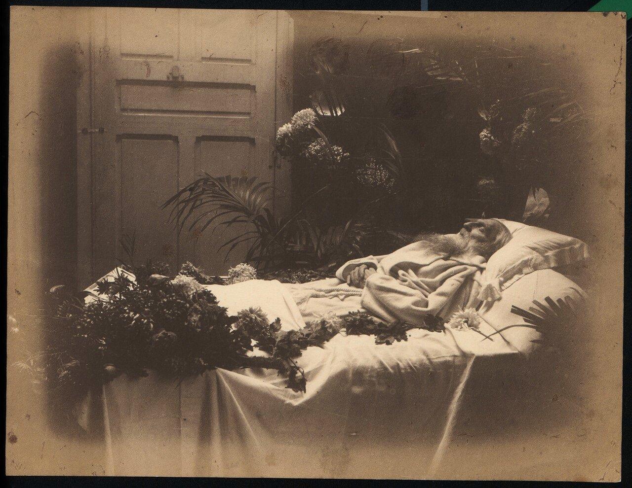 Огюст Роден на смертном одре