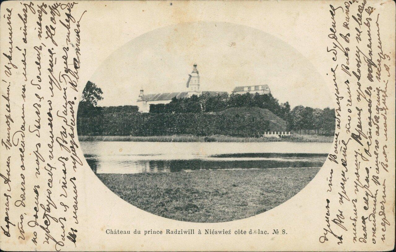 Замок князей Радзивиллов. 1904