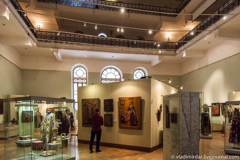 Выставка «Христианские древности Пермского края» в Историческом музее