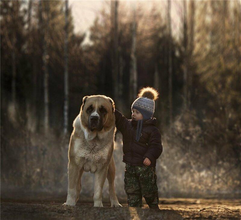 Фотограф Елена Шумилова — мама двух дружных шустрых мальчишек. Сыновья и их домашние животные стали героями серии душевных фотографий о жизни в деревне.<br /> <br /> «Мне хотелось бы запечатлеть детство как оно есть — настоящим, с конфузами, удивлениями, мечтам