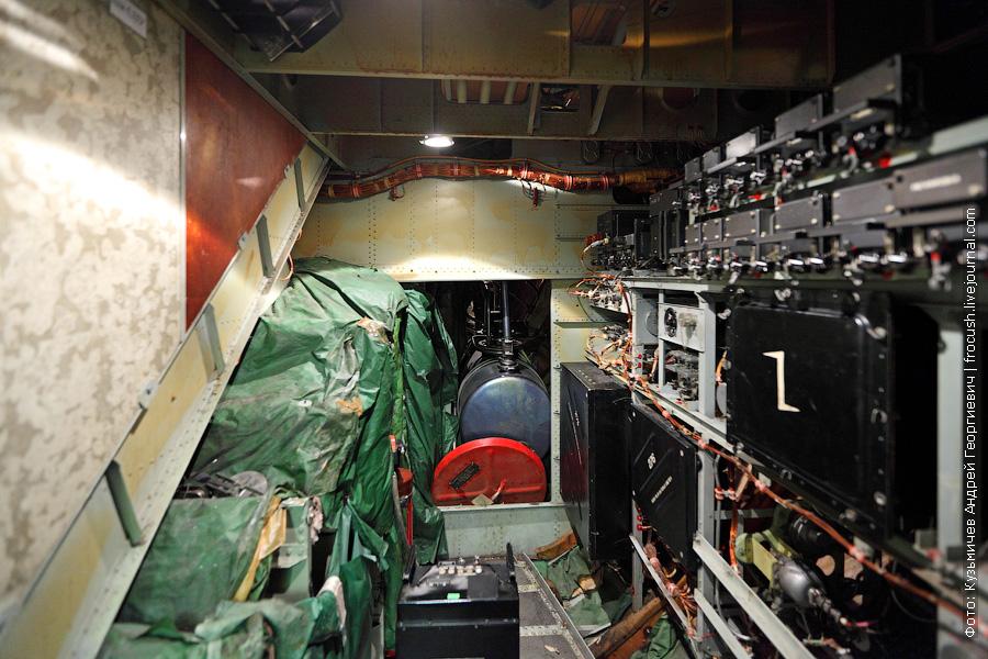 Подкабинное пространство на нижней палубе