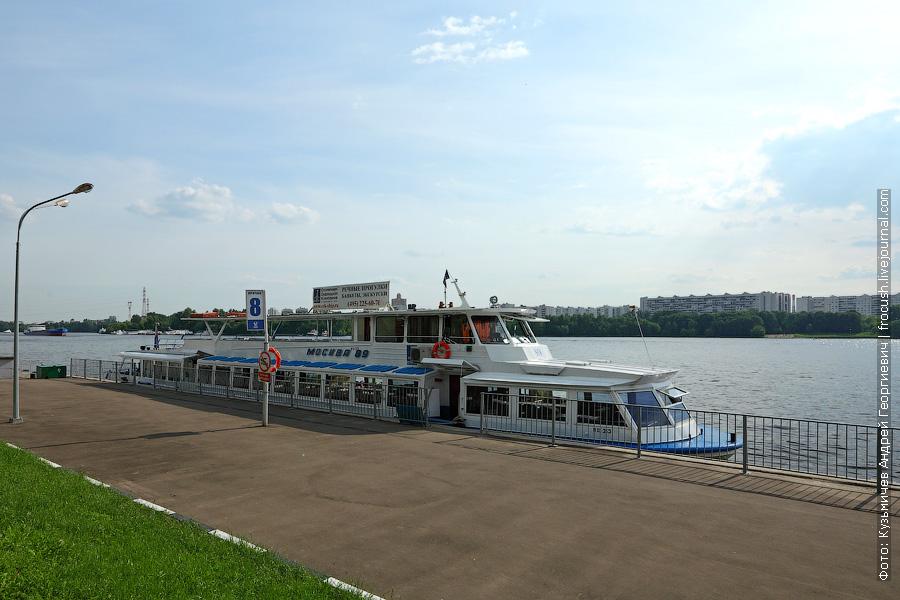 1 июня 2013 года. Москва. Северный речной порт. «Москва-89»
