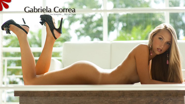 Бразильская модель Gabriela Correa (Габриэла Корреа)