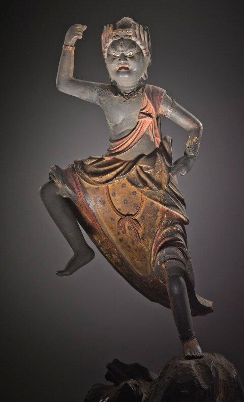 Zao Gongen (Mountain Avatar)Japan, late Heian period, circa 1180