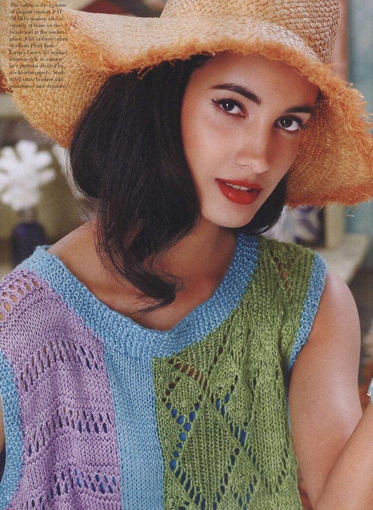 Knitting Vogue 2014 : Vogue knitting international spring summer