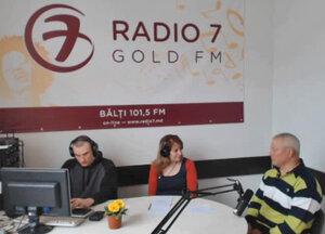 Евгений Ботнарь в «Гостиной онлайн» на Радио 7