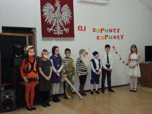 Bal maskowy w Domu Polskim w Bielcach
