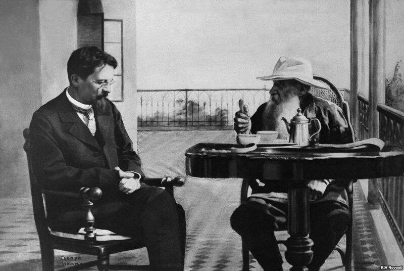 Чехов и Толстой в Гаспре1.jpg