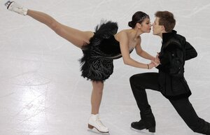 Танцы на льду - бронза