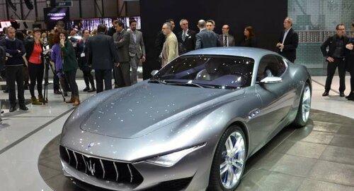 Jaguar представил модель на автосалоне в Женеве