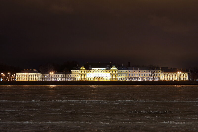 Дворец Меншикова, 1710-1714 гг., Санкт-Петербург