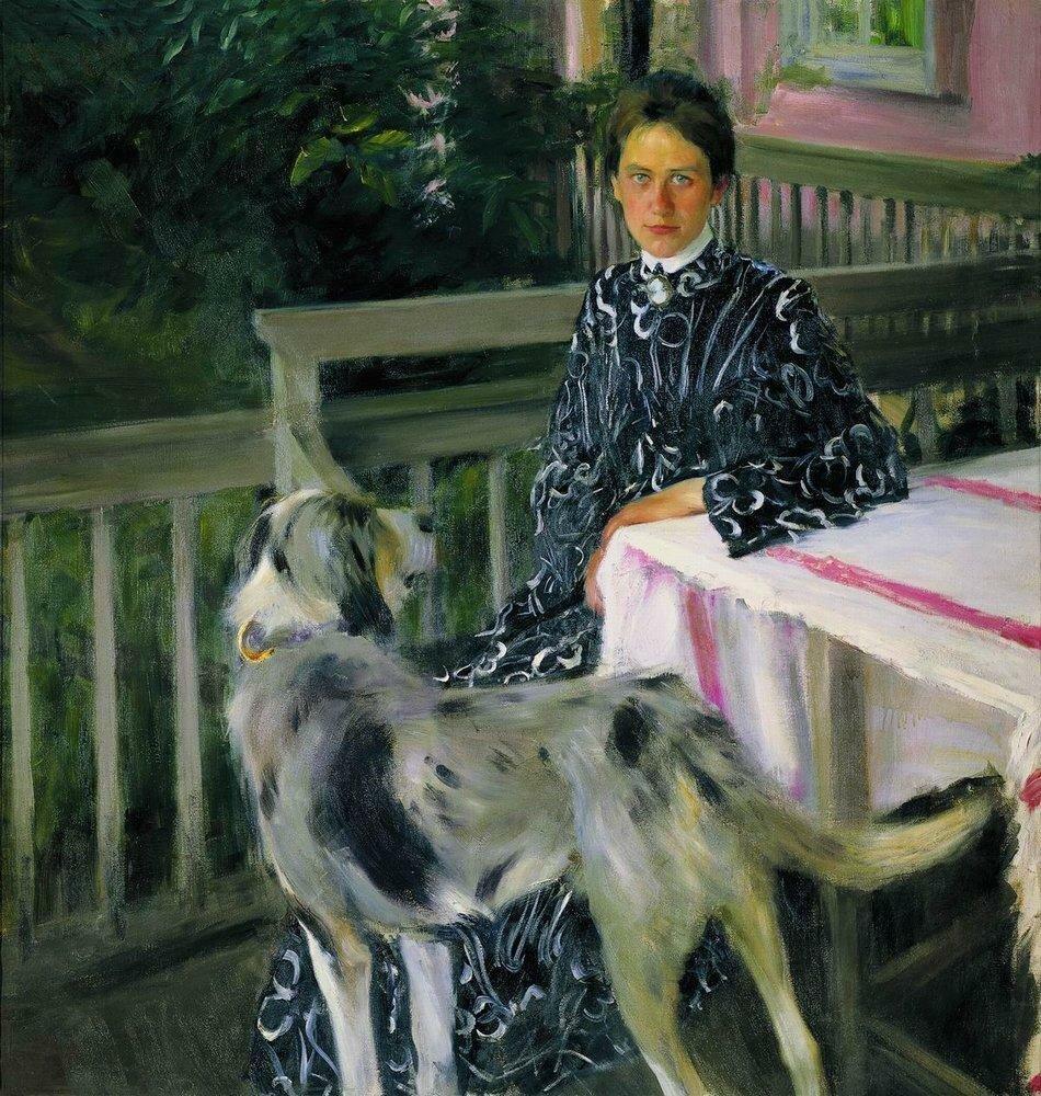 Портрет Ю.Е.Кустодиевой2. 1903.jpg