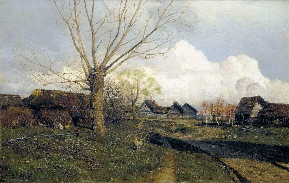 Саввинская слобода под Звенигородом1. 1884.jpg