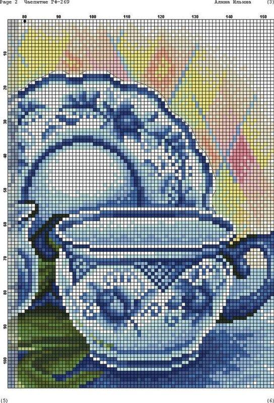 чаепитие - схема 2