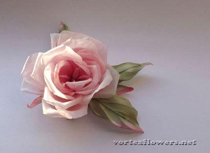 Как фотографировать цветок из ткани