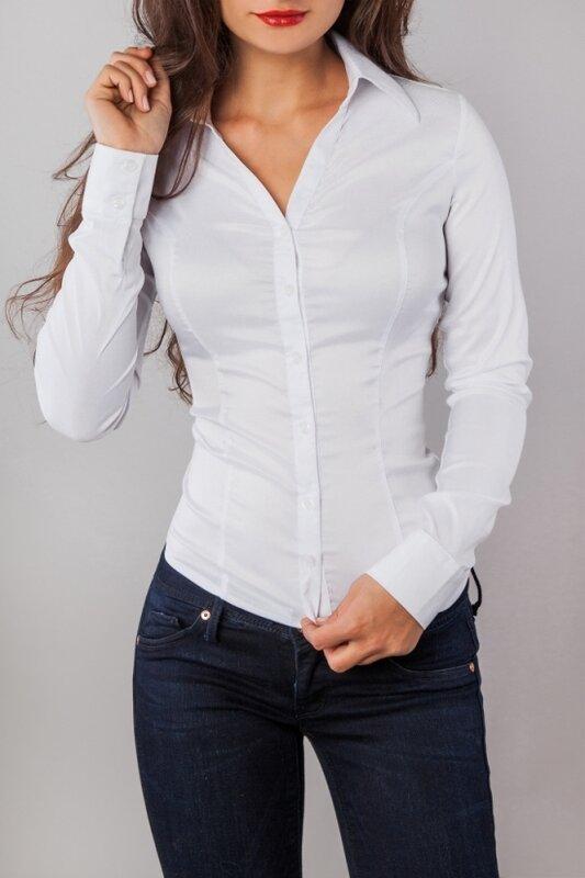 Белые Блузки Для Девушек