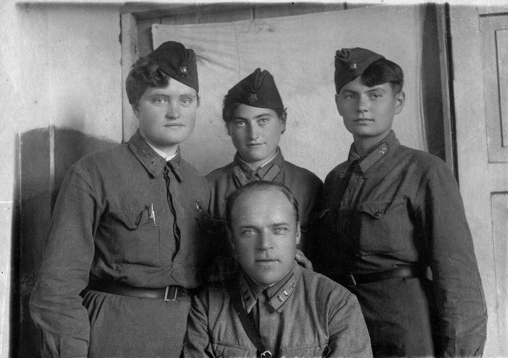 старинные военные фотографии часть