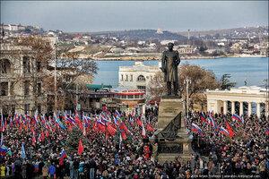 Три года назад здесь началась Русская весна