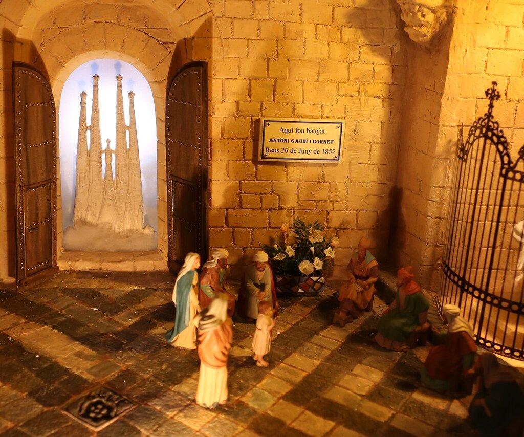Реус. Церковь Святого Петра. Раждественский Вифлием. Iglesia Prioral de San Pedro