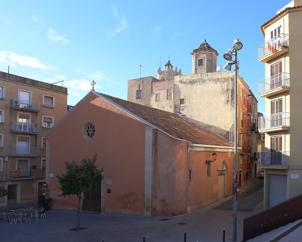 Tarragona. St.Laurence church. Таррагона.  Церковь Святого Лаврентия.