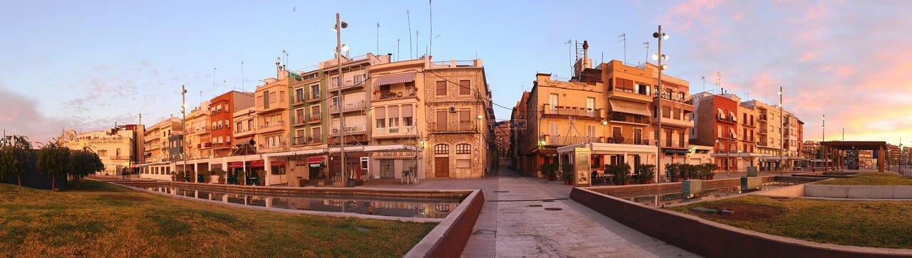 Тarragona. Serallo. Таррагона.  Серальо, panorama