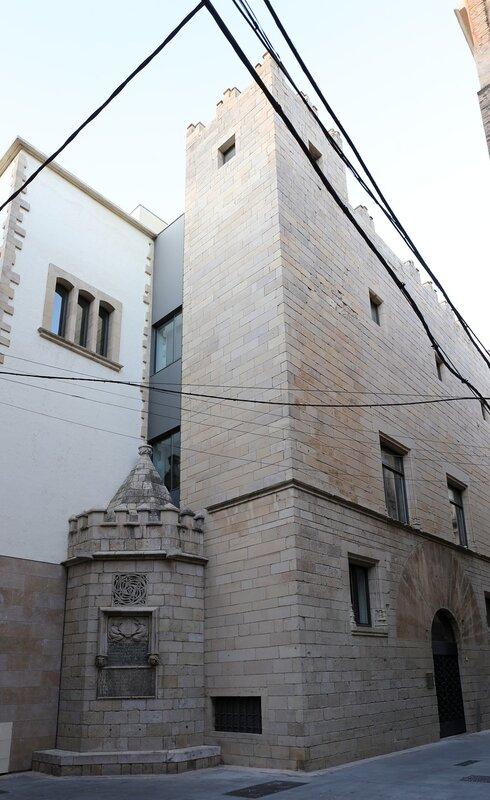 Тортоса.  Дворец Оливера де Ботельера. Palau Oliver de Boteller. Tortosa.