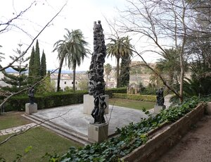 Tortosa, Тортоса.  Сад Принца. Jardins del Princep.