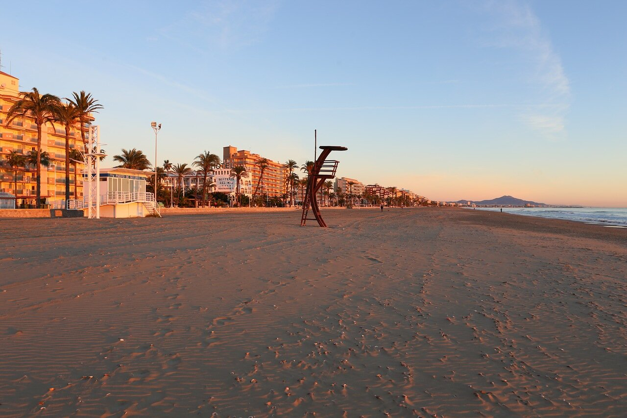 Пеньискола, северный пляж, Playa Norte de Peñíscola