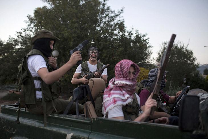 Будущие солдаты Израиля (16 фото)