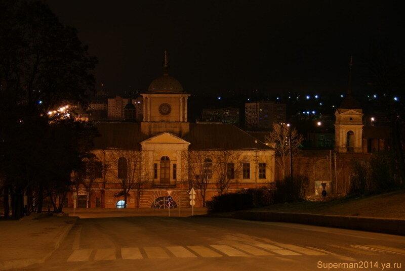ночной Смоленск - церковь Иконы Божией Матери Одигитрия