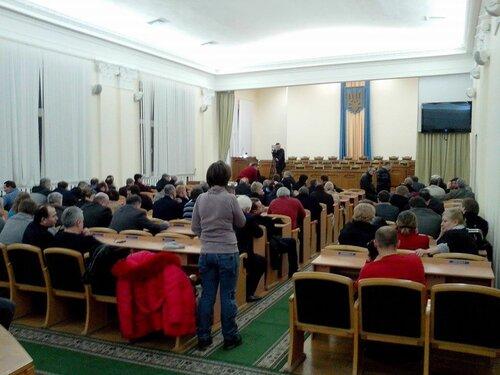 экстренная сессия луганского облсовета