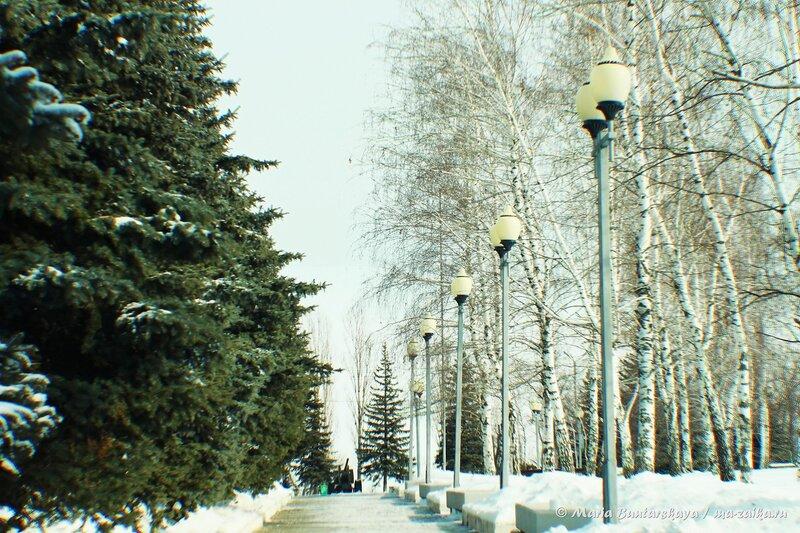Парк Победы, Саратов, 23 февраля 2014 года