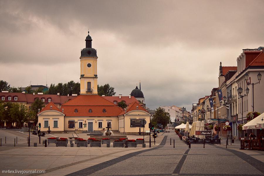Белосток, Польша, Białystok, Рынок Костюшки, Ратуша в Белостоке