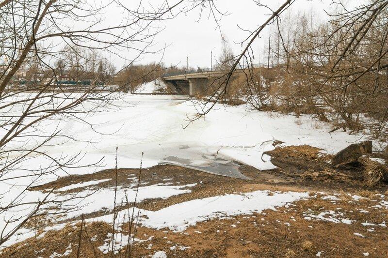 Автомобильный мост через р. Кимрку, Кимры