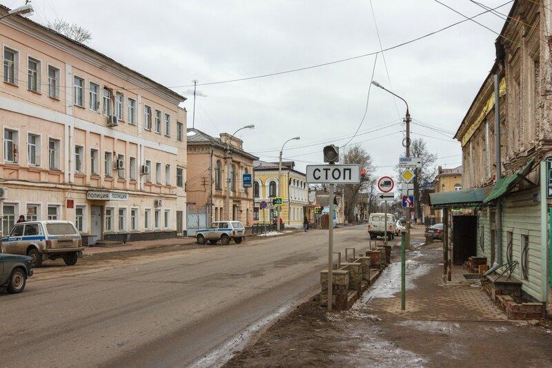 Дома по улице Володарского, Кимры