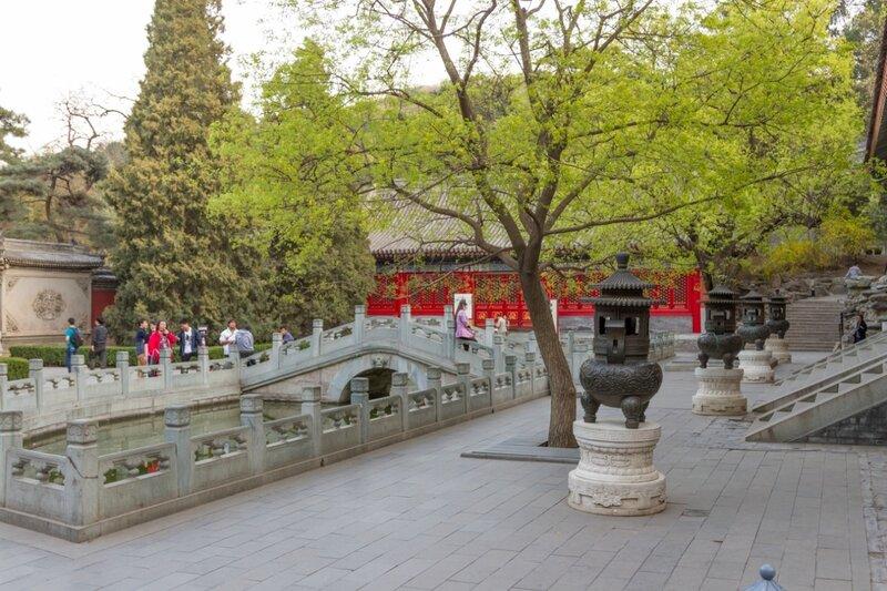 Дворец Циньчжэн, парк Сяншань, Пекин
