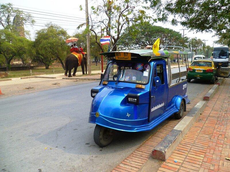 Таиланд, Аюттайя - тук-тук (Thailand, Ayutthaya - tuk tuk)
