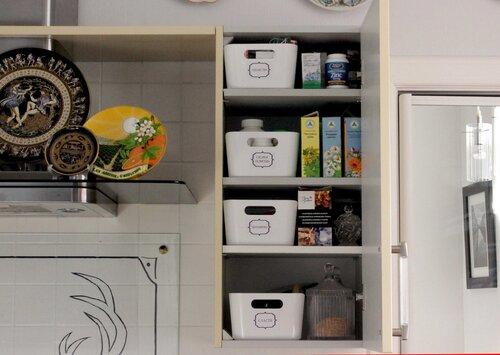 порядок в кухонных шкафах фото