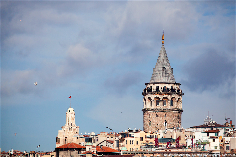 Стамбульские башни