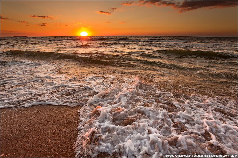Застывшее море