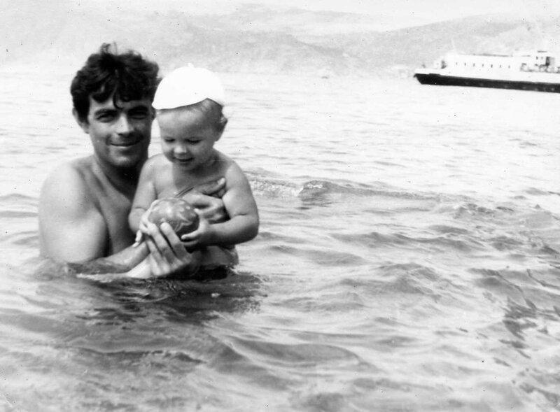 С папой в море в Балаклаве