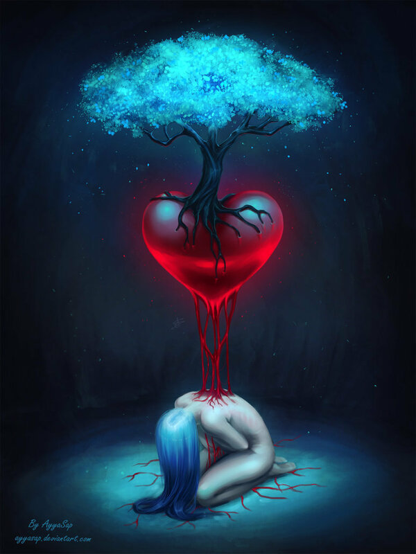 обо картинки фэнтези сердце несмотря
