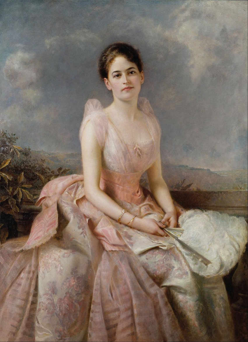 Portrait of Juliette Gordon Low (1860-1927)
