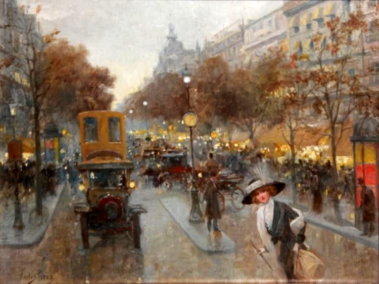 Untitled (Women Crossing Avenue)