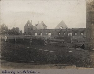 Неизвестное место в Белицах. 1910