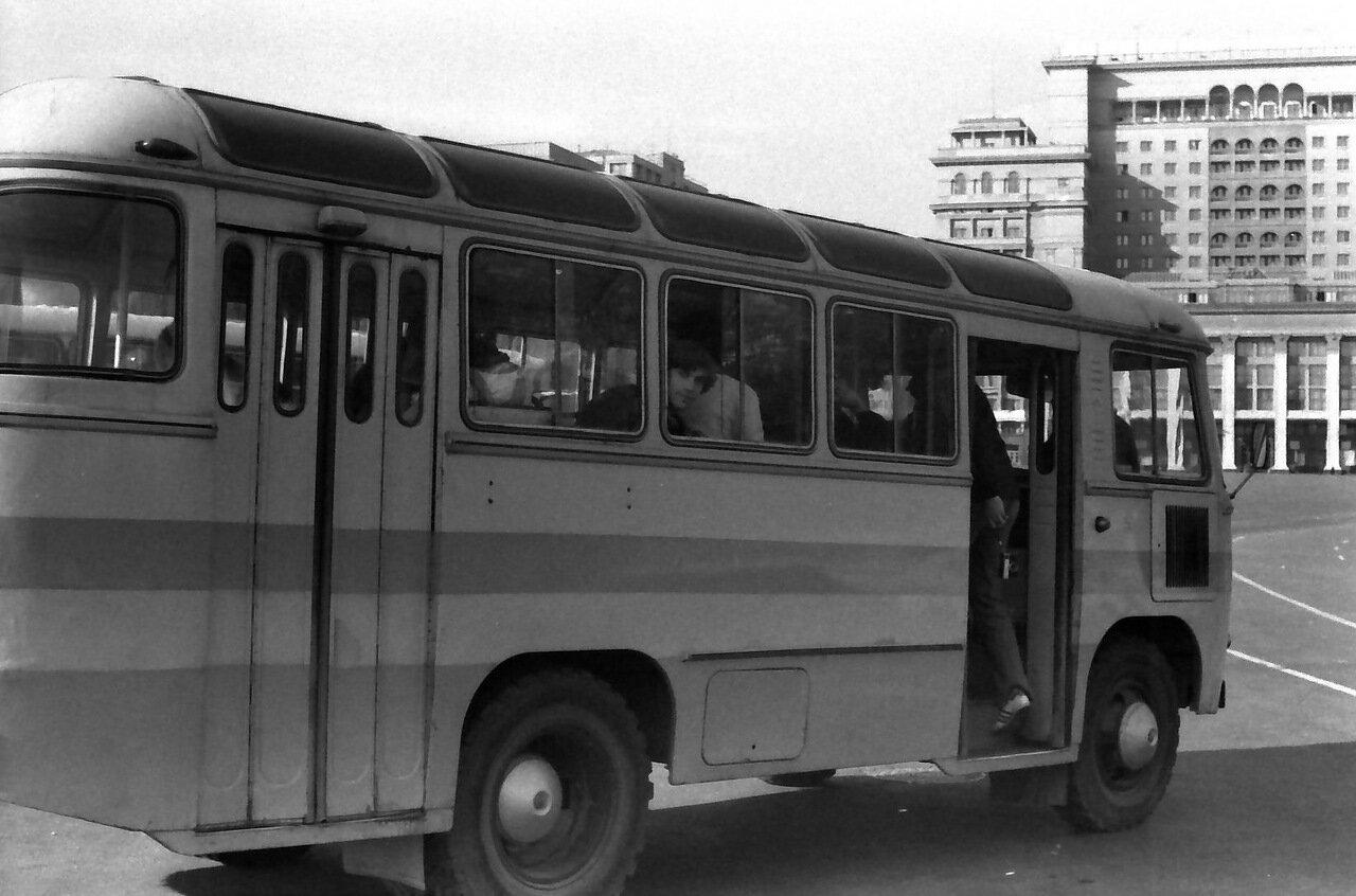 Москва.Туристический автобус