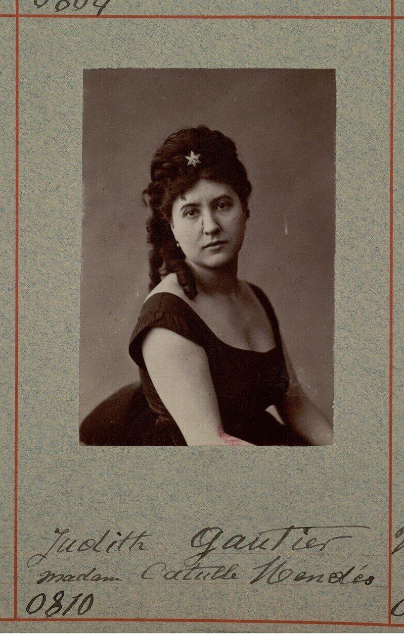 Жюдит Готье (25 августа 1845, Париж — 26 декабря 1917) — французская поэтесса и романист. Дочь Теофиля Готье и Эрнесты Гризи, сестра итальянской балерины Карлотты Гризи.