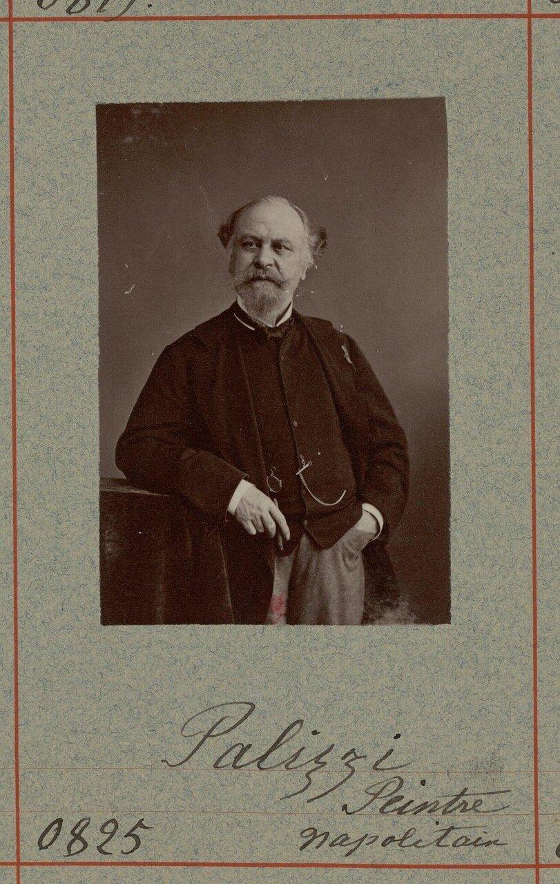 Филиппо Палицци (1818, Басто, Абруцци  - 1899, Неаполь). Итальянский художник, рисовальщик. Неаполитанская школа